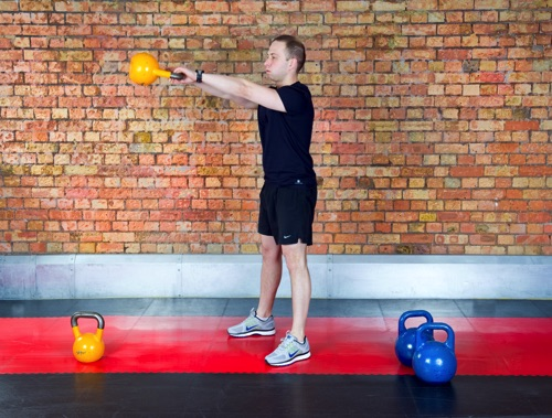 Jaro does personal training in London
