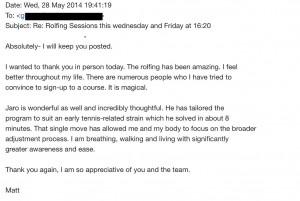 Client Testimonial - Matt
