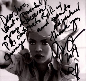 Client Testimonial - Ms Lauryn Hill