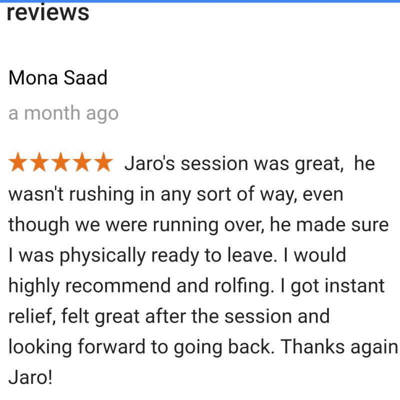 Client Testimonial - Mona Saad