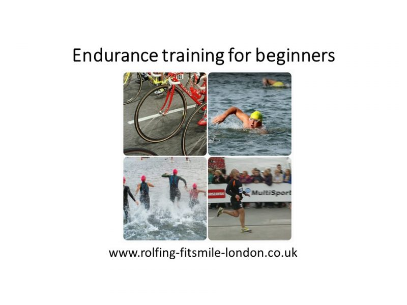 Endurance training for beginners